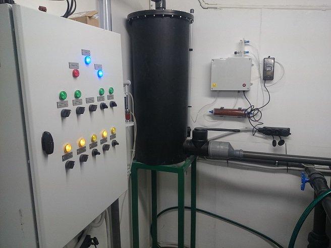 Узв для выращивания рыбы схема оборудования