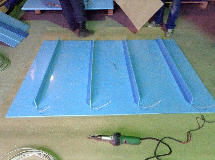 Листовой пластик для лодки 94