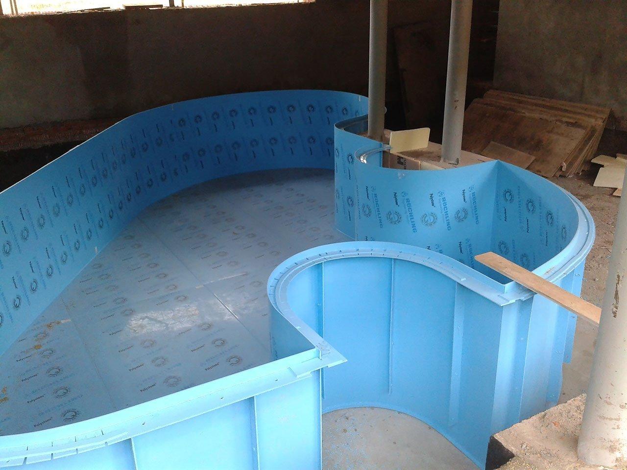 Бассейны для разведения рыбы из полипропилена своими руками